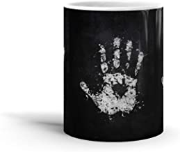 Ceramic Coffee Mug Television Show Cup White Hand Of Saruman Tv Shows Series Drinkware Super White Mugs Family Gift Cups 11oz 325ml