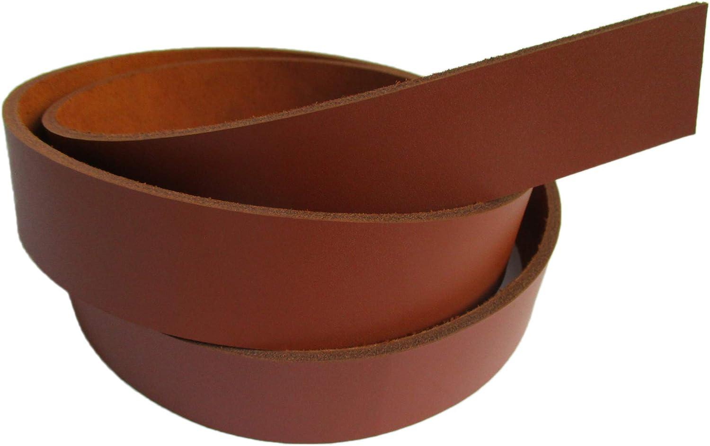 Black, 1 1//5 30mm. 9-10 oz 51-55 Genuine Natural Leather Belt Blank Strip Strap Band.