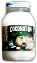 Coconut Oil Centrifuge Extracted Virgin Certified Organic, Bio-active Non-gmo Centrifuged Cold under 78* - 16fl oz - BPA Free Glass High Lauric Acid NO Trans Fatty Acids by Natur-Pur