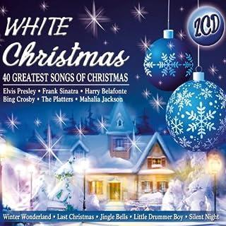 White Christmas - 40 greatest songs of Christmas u.a. Elvis Presley, Frank Sinatra, Platter, Harry Belafonte, Bing Crosby ..
