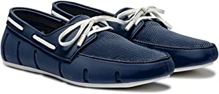 حذاء كاجوال لوفر بدون كعب للرجال لون كحلي من سويمز