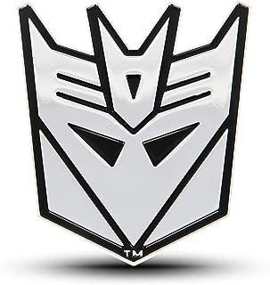 black decepticon car emblem