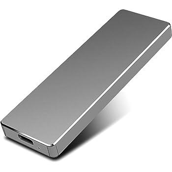 PAATE Disco Duro Externo Portátil 2TB, Type C USB3.1 SATA HDD ...