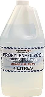 Propylene Glycol 99.9% USP/EP Food Grade   4 litres