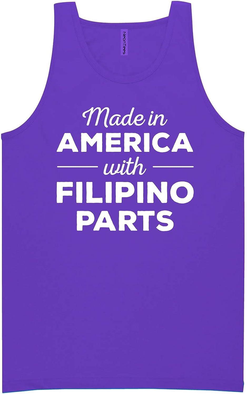 Made in America w/Filipino Parts Neon Tank Top