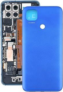 携帯電話の裏表紙の交換 Xiaomi Redmi 9C / REDMI 9C NFC/REDMI 9 / M2006C3MGM2006C3MIIM2004C3MIのためのオリジナルのバッテリーバックカバー 電話の予備品