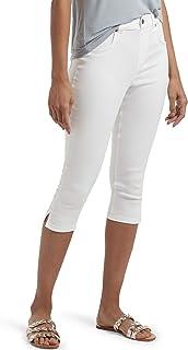 Women's Ultra Soft Denim High Waist Short Capri Legging
