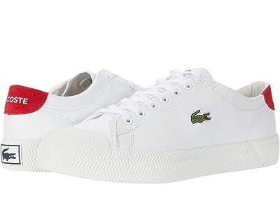 Lacoste Gripshot 0120 1 (White/Red) Men