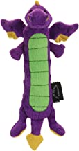 GoDog Skinny Dragons Purple Large Toy with Chew Guard