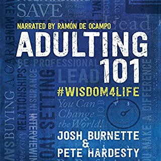 Adulting 101: #Wisdom4Life audiobook cover art