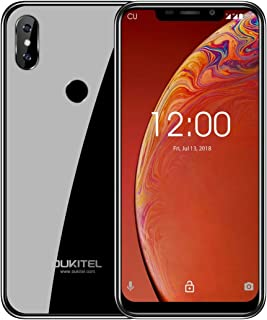 LIJINGFANG Dual Back Cameras, Face ID & Fingerprint Identification, 6.18 inch 2.5D U-notch Screen Android 9.0 MTK6739 Quad Core up to 1.5GHz, Network: 4G (Color : Gold)
