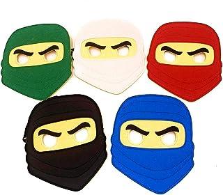 Kool KiDz 10 Ninja Masks for Birthdays, Halloween, No Color, Size No Size