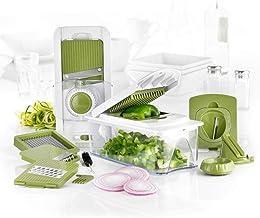 AICONEZ Fullstar Vegetable Chop'N Mandoline Slicer Spiralizer Dicer PRO- Multi Blade for Onion Potato Tomato Fruit Chopper...