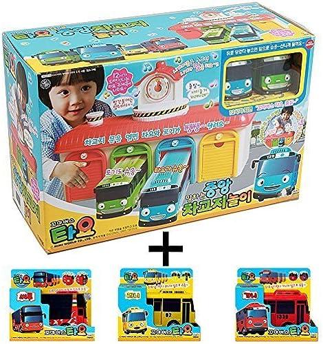 Tayo- Talking Central Garage Play+Toy(RANI+GANI+CITU) by Tayo