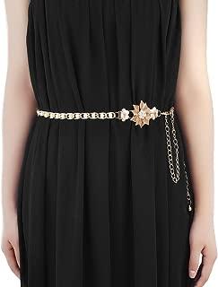 Women's Stylish Sexy Rhinestone Body Belly Chain Waist Chain Belt For Dress