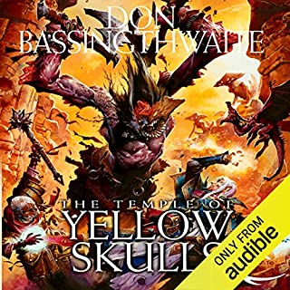 The Temple of Yellow Skulls audiobook cover art