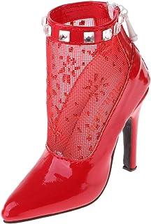 Blau MagiDeal Puppenschuhe Prinzessin High Heel Schuhe Sandale Pumps mit Blockabsatz F/ür 1//4 BJD Puppen Dress Up