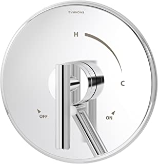 Symmons S-3500-CYL-B-TRM Dia Shower Valve Trim in Polished Chrome (Valve Not Included)