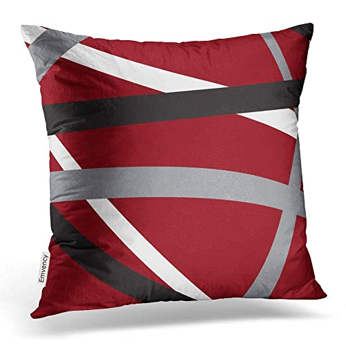 Dark Grey Abstract Pillows: Amazon.com