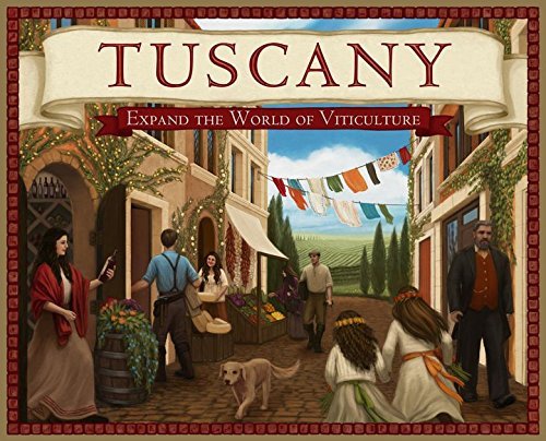 Ghenos Games – Viticulture Tuscany – Expansión, vtts