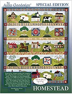 Anita Goodesign Embroidery ~ Homestead ~ Mix & Match Quilting ~Special Edition