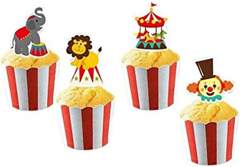 Cupcake Toppers and Wrappers Kits