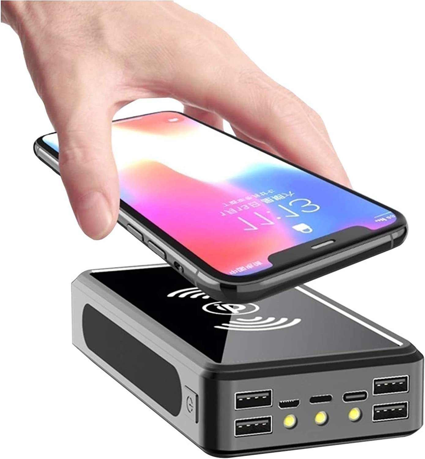 Sale SALE% OFF Wttfc Wireless Fees free!! Solar Power Charger Bank 1000000Mah