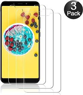 Hanbee Cristal Templado Xiaomi Mi A2 [3 Unidades], Protector Pantalla Xiaomi Mi A2 Vidrio Templado, Protector de Cristal para Xiaomi Mi A2 [Garantía de por Vida]