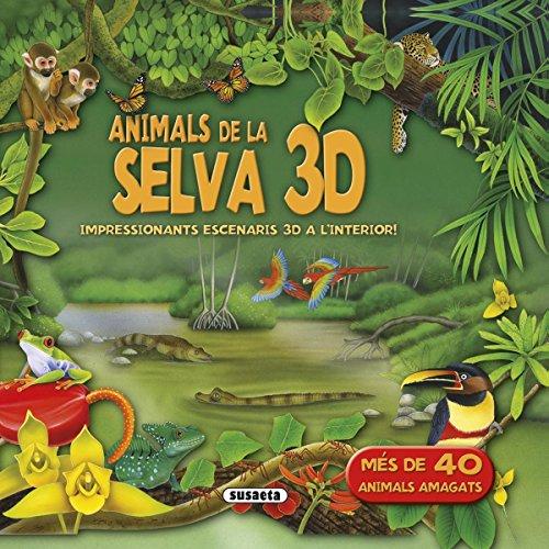 Animals de la selva 3D (Desplegable 3D)