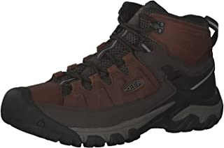 KEEN Men's Targhee Iii Waterproof Mid High Rise Hiking Shoes