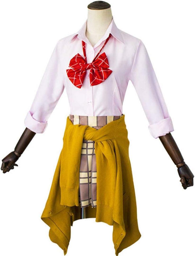 YKJ Trajes de Cosplay de Anime Camisa con Lazo Falda ...