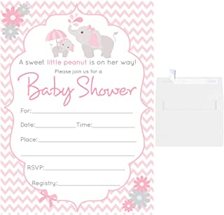 fill in the blank baby shower invitations