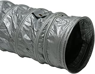 Rubber-Cal Air Ventilator Insulated Ventilation Ducts PVC Flex Hose (Fully Extended) - 12-Inch by 25-Feet