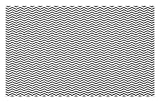 ABAKUHAUS Espina de Pescado Tapete, Zigzag Ondulado del Arte Líneas, Decorativo con Fieltro de Poliéster Estampado Base Antideslizante, 45 cm x 76 cm, Off White Gris carbón