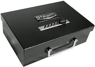 Stealth Portable Handgun Safe PS1208EZ Pistol Box + Free 13.5