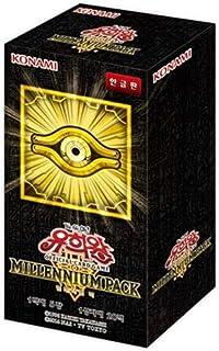 Konami Yu-Gi-Oh Yugioh Card Millennium Pack Booster Box 20 Packs TCG OCG 100 Cards Korean Version