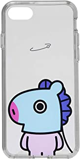 BT21 Official Merchandise by Line Friends - MANG Character Clear Case for iPhone 8 Plus/iPhone 7+, Blue