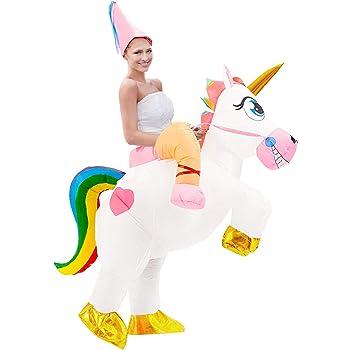 Tacobear Disfraz Inflable De Unicornio Traje De Cosplay Fiesta ...