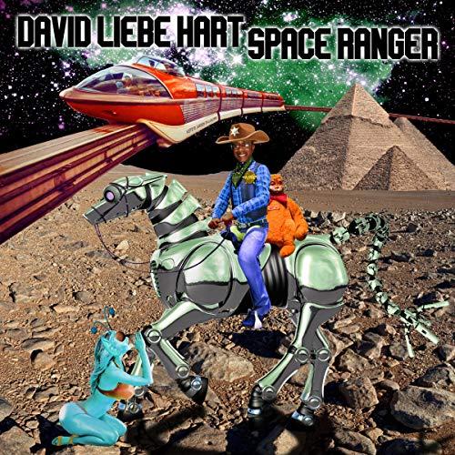 Diseño de la portada del título David Liebe Hart: Space Ranger