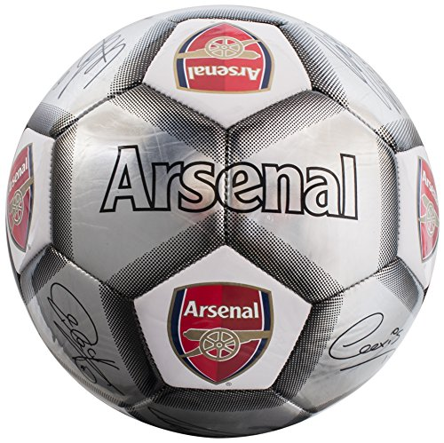 Arsenal FC Kids 'ar04933Plata Firma fútbol, Multicolor, tamaño 5