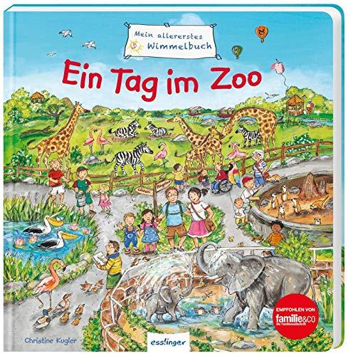 Ein Tag im Zoo (Mein allererstes Wimmelbuch)