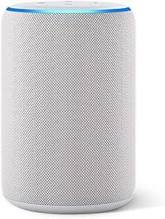 Certified Refurbished Echo (3rd Gen) - Smart speaker with Alexa - Sandstone