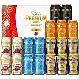 【お歳暮】 ザ・プレミアム・モルツ 「華」 冬の限定5種 ビール ギフト セット YB50P  350ml×19本  ギフトBox入り