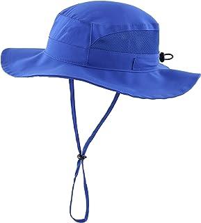Toddler Boy Sun Hat Kid's Mesh UPF 50+ Hiking Hat Safari...