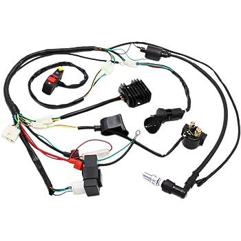 Amazon.com: Complete Electrics Wiring Harness D8EA Spark Plug CDI Ignition  Coil Kits For Chinese Dirt Bike 150cc 200cc 250cc Zongshen Loncin:  AutomotiveAmazon.com