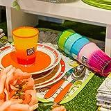 Zoom IMG-2 set bicchieri in vetro colorato