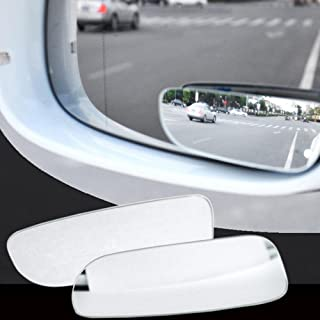 Womdee Blind Spot Mirror, Rearview Convex Adjustable Side Mirrors 360 Degree Adjustable Extra Wide Angle View For SUV Car ...