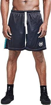 Aimpact Mens Mesh Athletic Shorts Workout Running Training Shorts