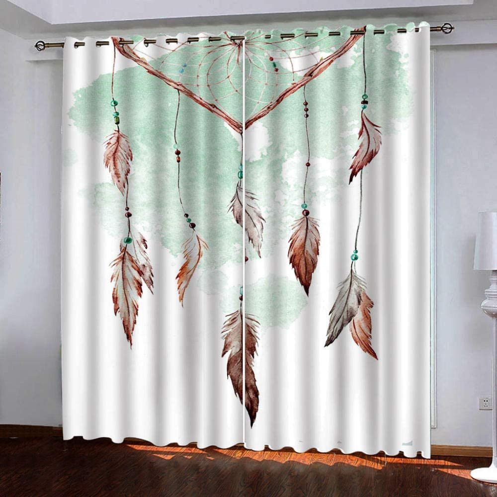 Thermal Insulated Grommet Curtains,Feather outlet for 100% quality warranty! Wind Pattern