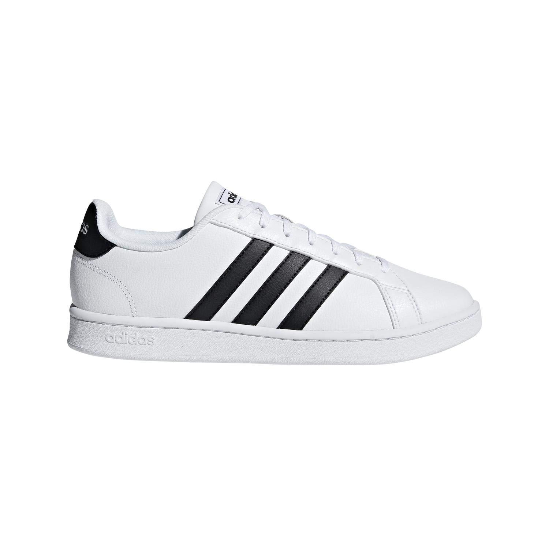 adidas Grand Court Black White